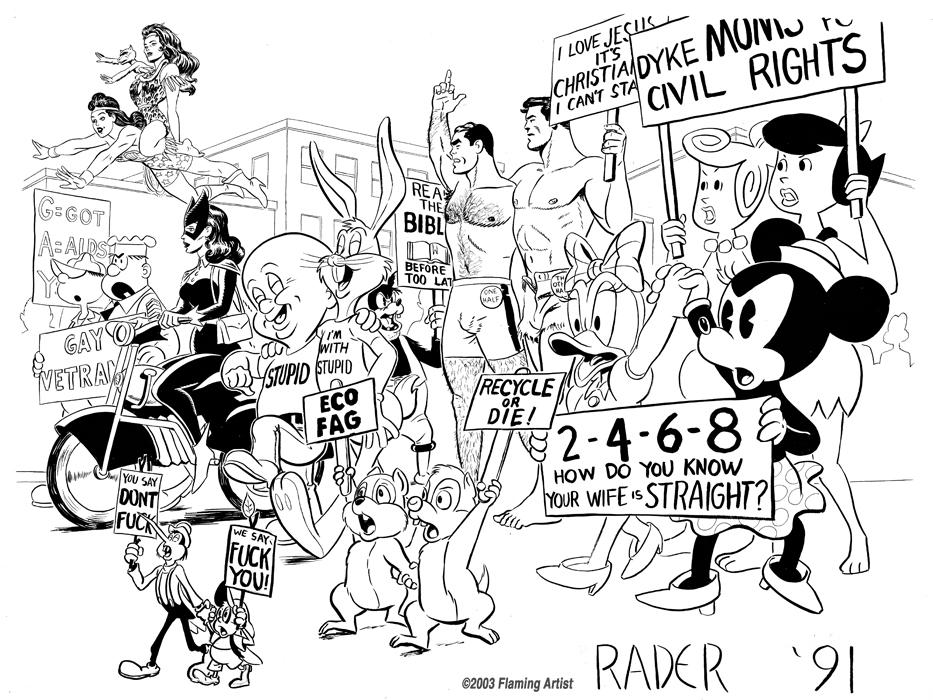 Illustration for Gay Pride