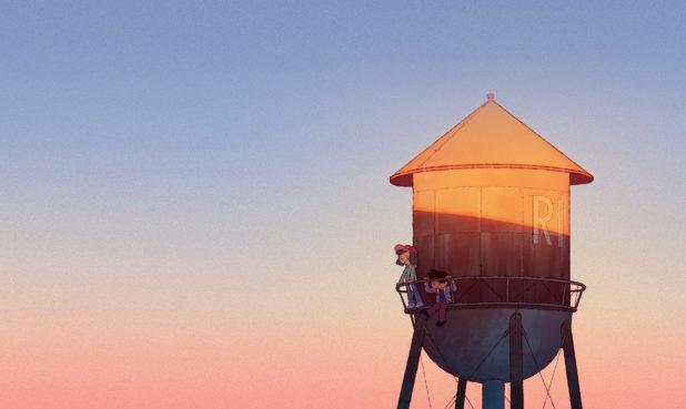 """ARTIST: Jess Marfisi: TITLE: The View MEDIUM: Digital SIZE: 8"""" x 8"""""""
