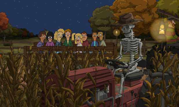 "Image from the Bob's Burgers Emmy®-nominated episode ""Pig Trouble in Little Tina"". (Courtesy of Fox Animation)"