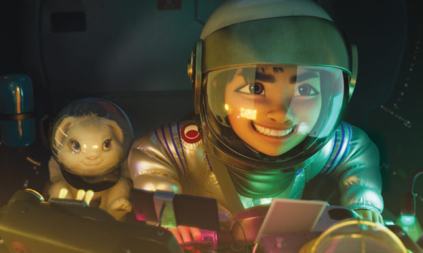 Bungee the rabbit and Fei Fei. (All photos courtesy of Netflix)