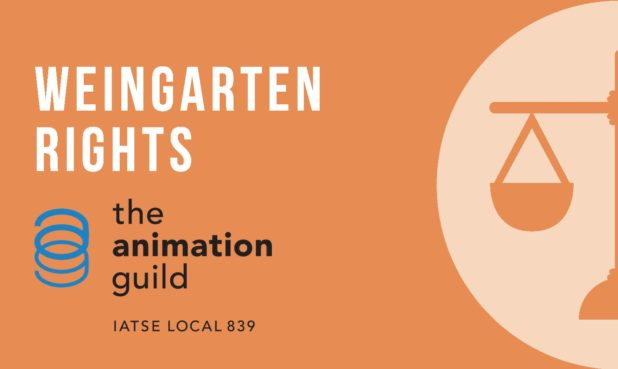 A Weingarten Rights card can be downloaded from The Animation Guild website. (See Additional Resources below.)