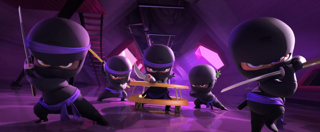 Boss Baby ninjas