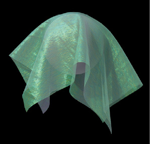 Green CG fabric