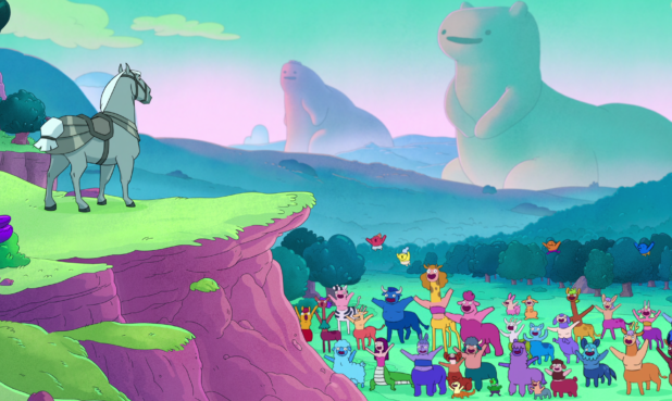 Animated horse and centaurs
